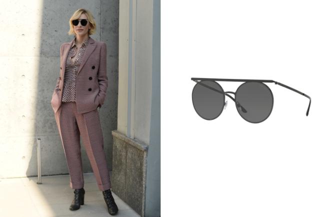 Фотография актрисы Кейт Бланшет в очках Giorgio Armani