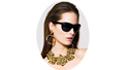Модные солнцезащитные очки Moschino 2010