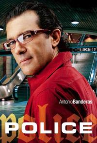Антонио Бандерас в солнцезащитных очках Police
