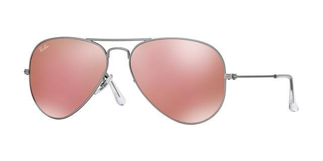 Яркие зеркальные очки на весну 2018 от Ray-Ban, Versace и Emporio Arman...