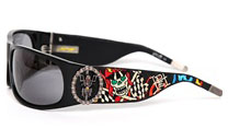 Солнцезащитные очки Ed Hardy Sunglasses Live to Ride in Black