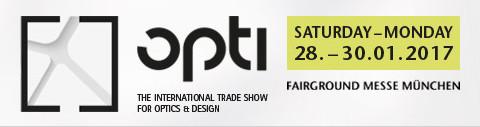 Международная выставка оптики и дизайна opti 2017 пройдет с 28 января по 30 января 2017 года в Мюнхене