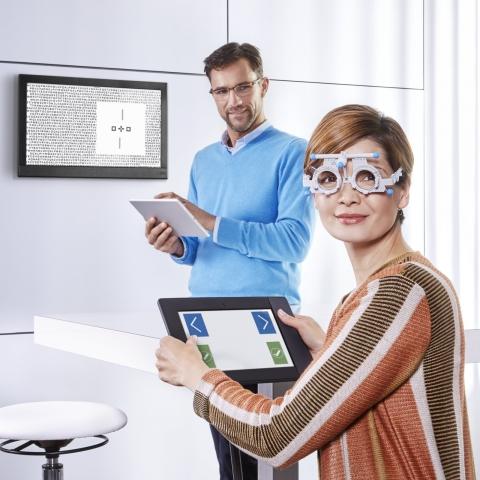 HOYA представила систему EyeGenius для измерения и коррекции фиксационной диспаратности