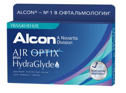 Компания «Алкон» выводит на российский рынок новые контактные линзы плановой замены AIROPTIX Plus HydraGlyde