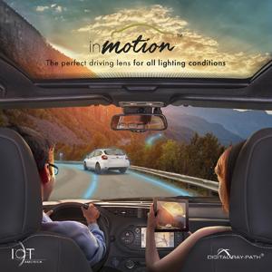 Компания IOT представила новые линзы для вождения inMotion