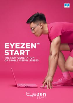 Essilor представил новые однофокальные линзы Eyezen Start для снижения зрительной усталости у активных пользователей цифровыми устройствами