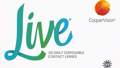Компания CooperVision объявила о начале продаж новых однодневных контактных линз Live®, предназначенных для начинающих пользователей 18-25 лет