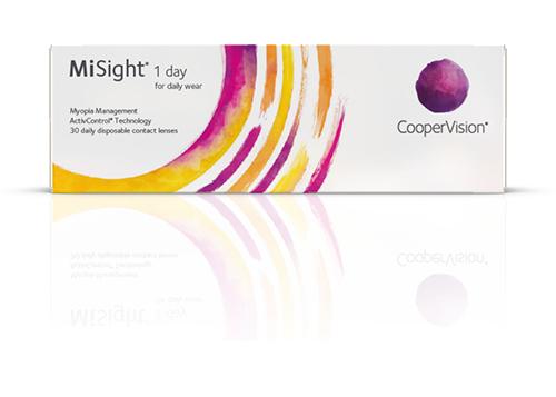 Линзы для контроля миопии у детей MiSight 1 Day компании CooperV...
