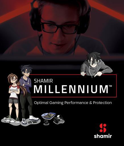 Очковые линзы Shamir Millennium для геймеров и активных молоды...